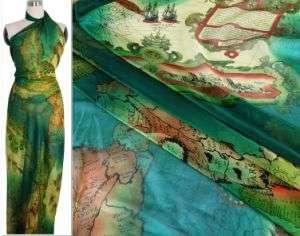 Silk Chiffon Printed Fabric Manufacturers