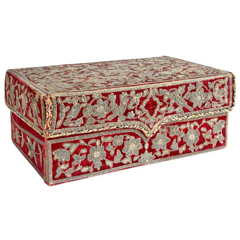 Silk Covered Box Importers