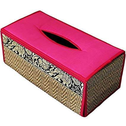 Silk Covered Paper Box Importers