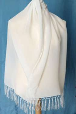 Silk Crepe Satin Scarf Importers
