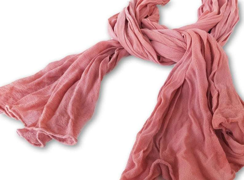 Silk Crinkled Scarf Manufacturers
