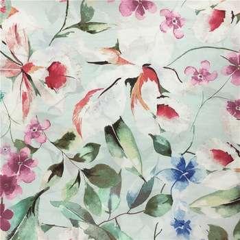 Silk Fabric Printed Manufacturers