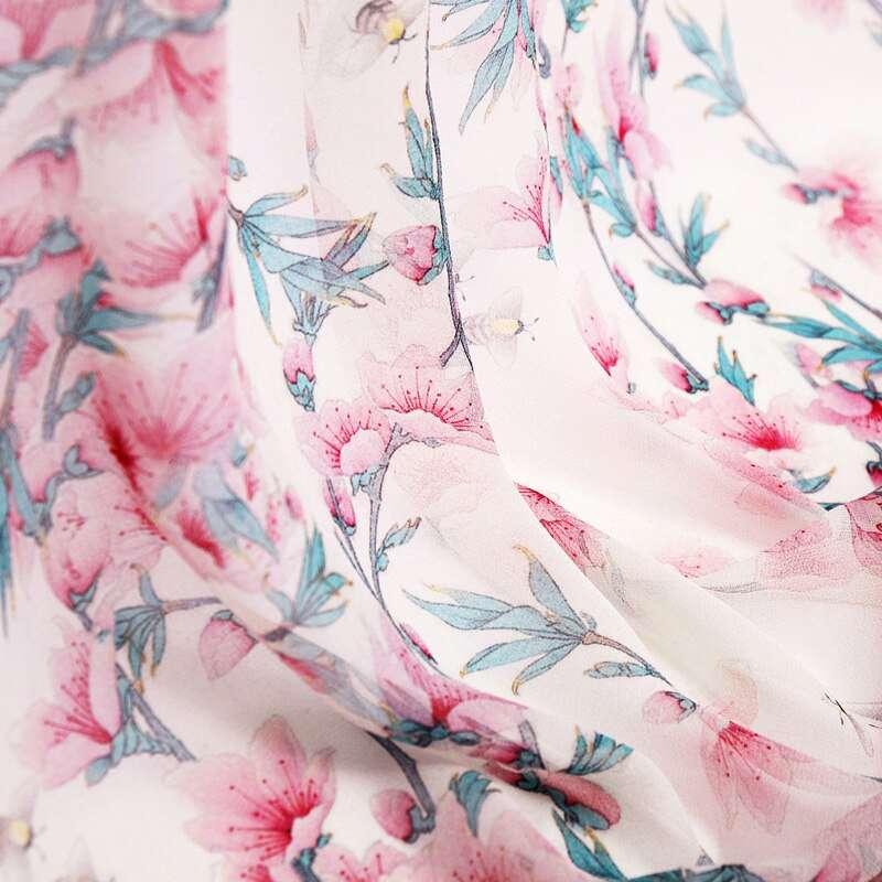 Silk Georgette Printed Manufacturers