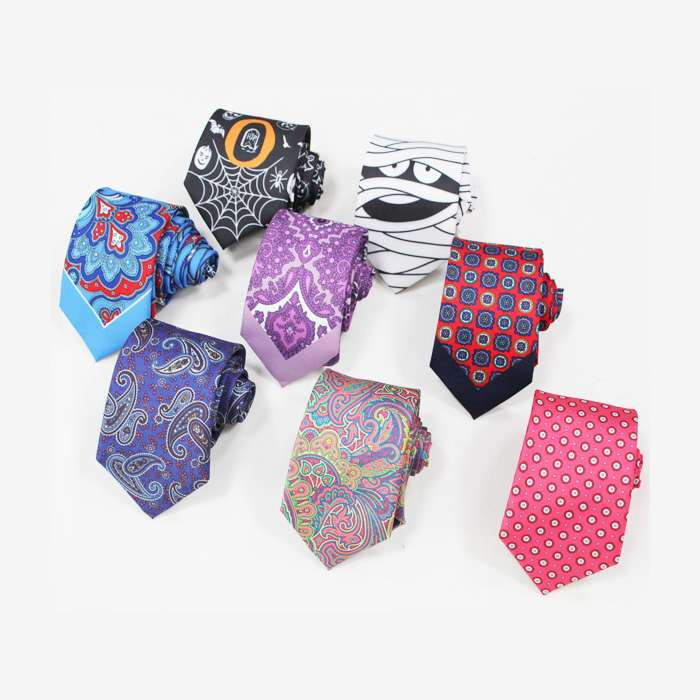 Silk Printed Tie Manufacturers