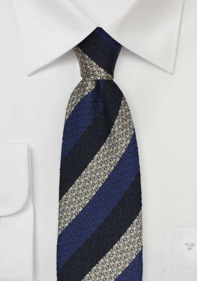 Silk Striped Tie Manufacturers