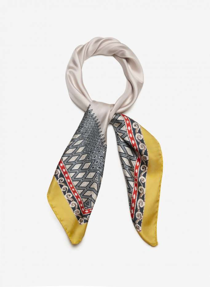 Silk Twill Printed Scarf Manufacturers