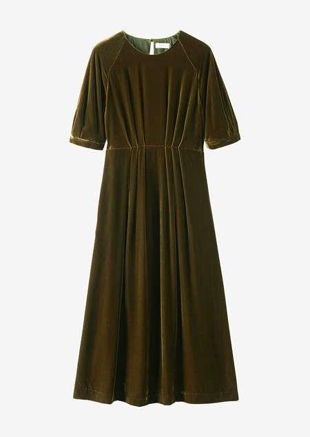 Silk Velvet Dress Manufacturers