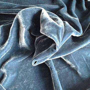 Silk Velvet Solid Dyed Manufacturers