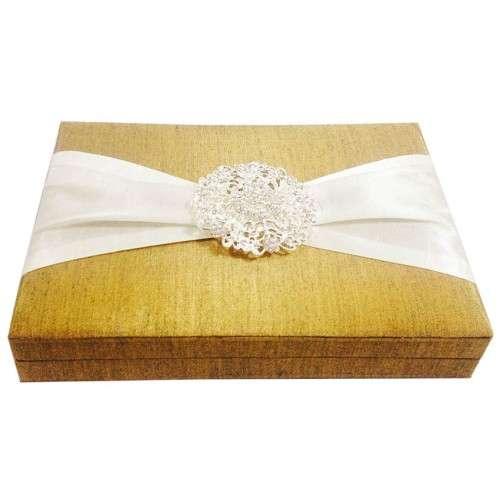 Silk Wedding Card Box Manufacturers