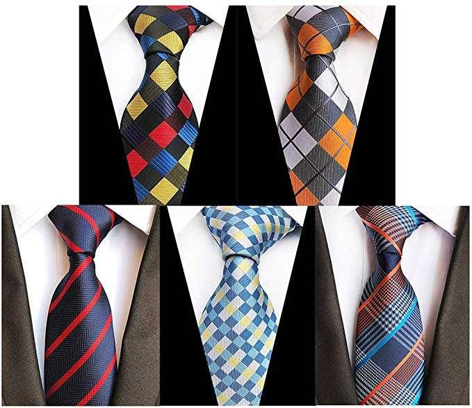 Silk Woven Necktie Set Manufacturers