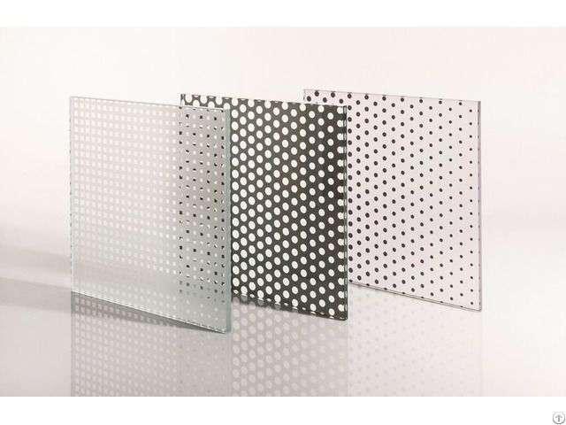 Silkscreen Printed Patterned Glass Manufacturers