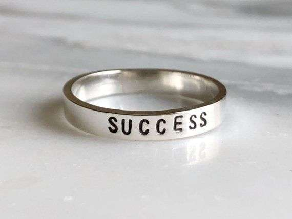 Silver Affirmation Ring Manufacturers