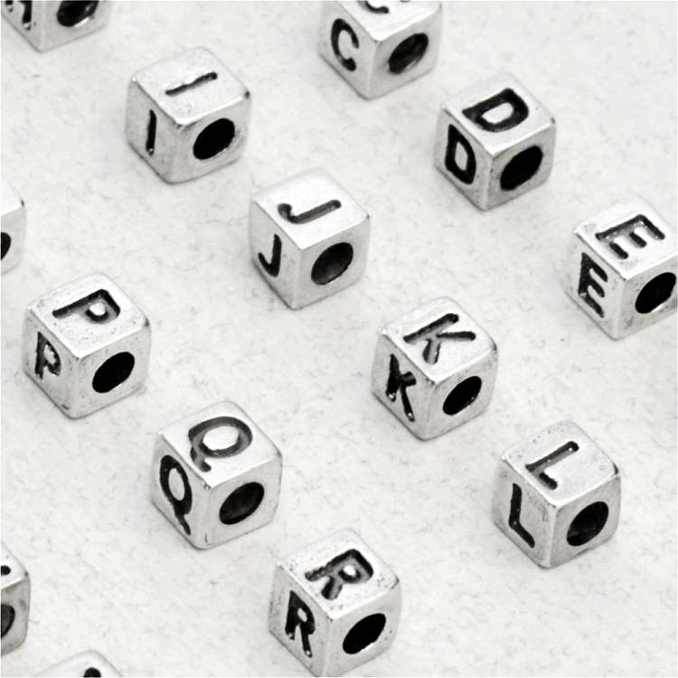 Silver Bead Alphabet Manufacturers