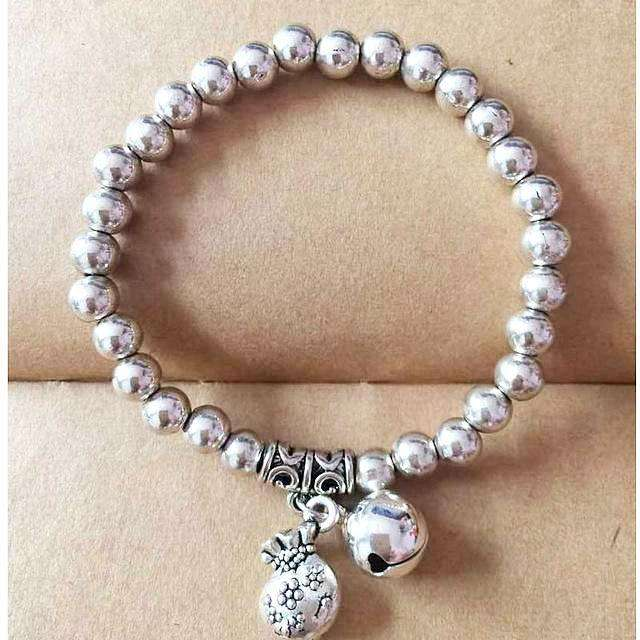Silver Bead Charm Bracelet Manufacturers