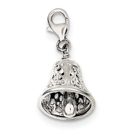 Silver Bell Charm Manufacturers