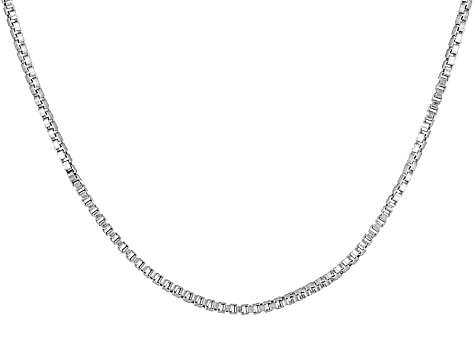 Silver Box Link Necklace Manufacturers