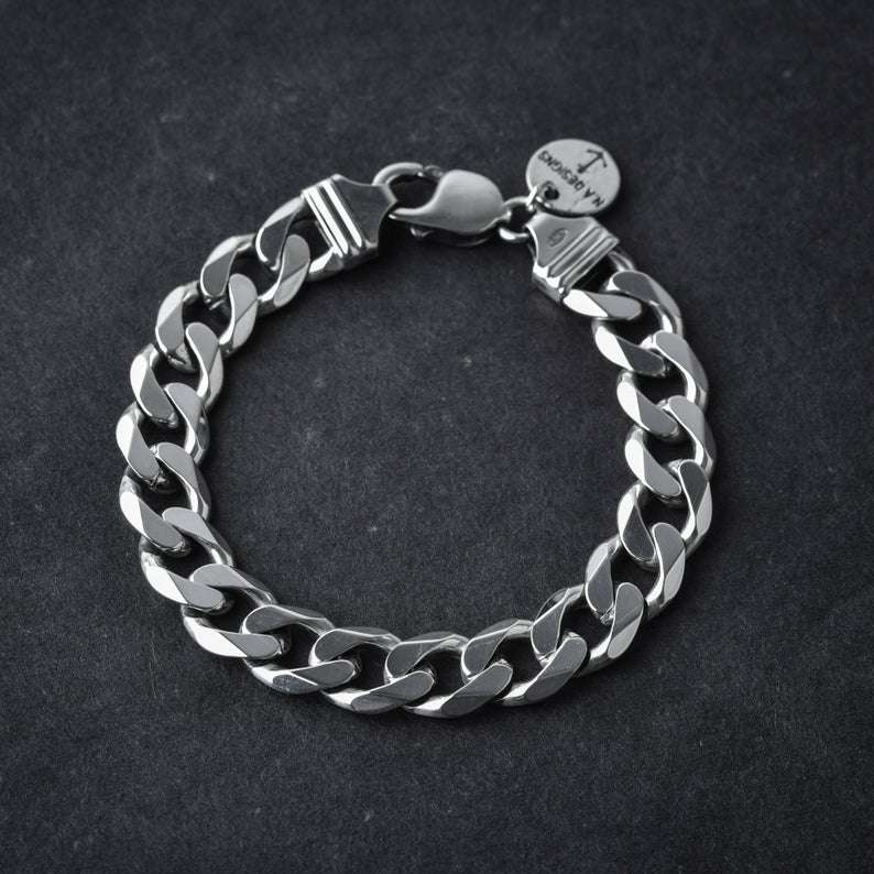 Silver Chain Link Bracelet Manufacturers