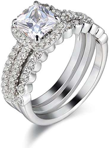 Silver Cubic Zirconia Cz Ring Manufacturers