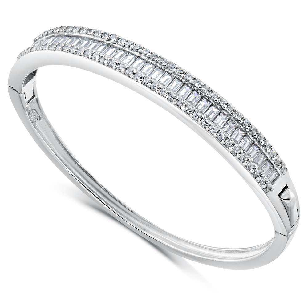 Silver Cz Bangle Manufacturers