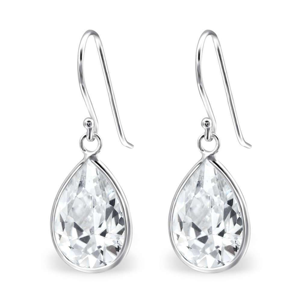 Silver Cz Earring 925 Jewelry Manufacturers