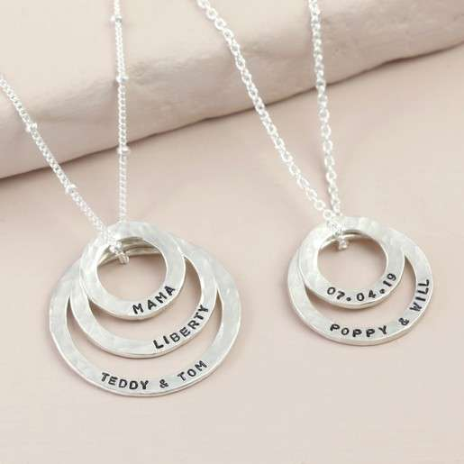 Silver Family Pendant Manufacturers