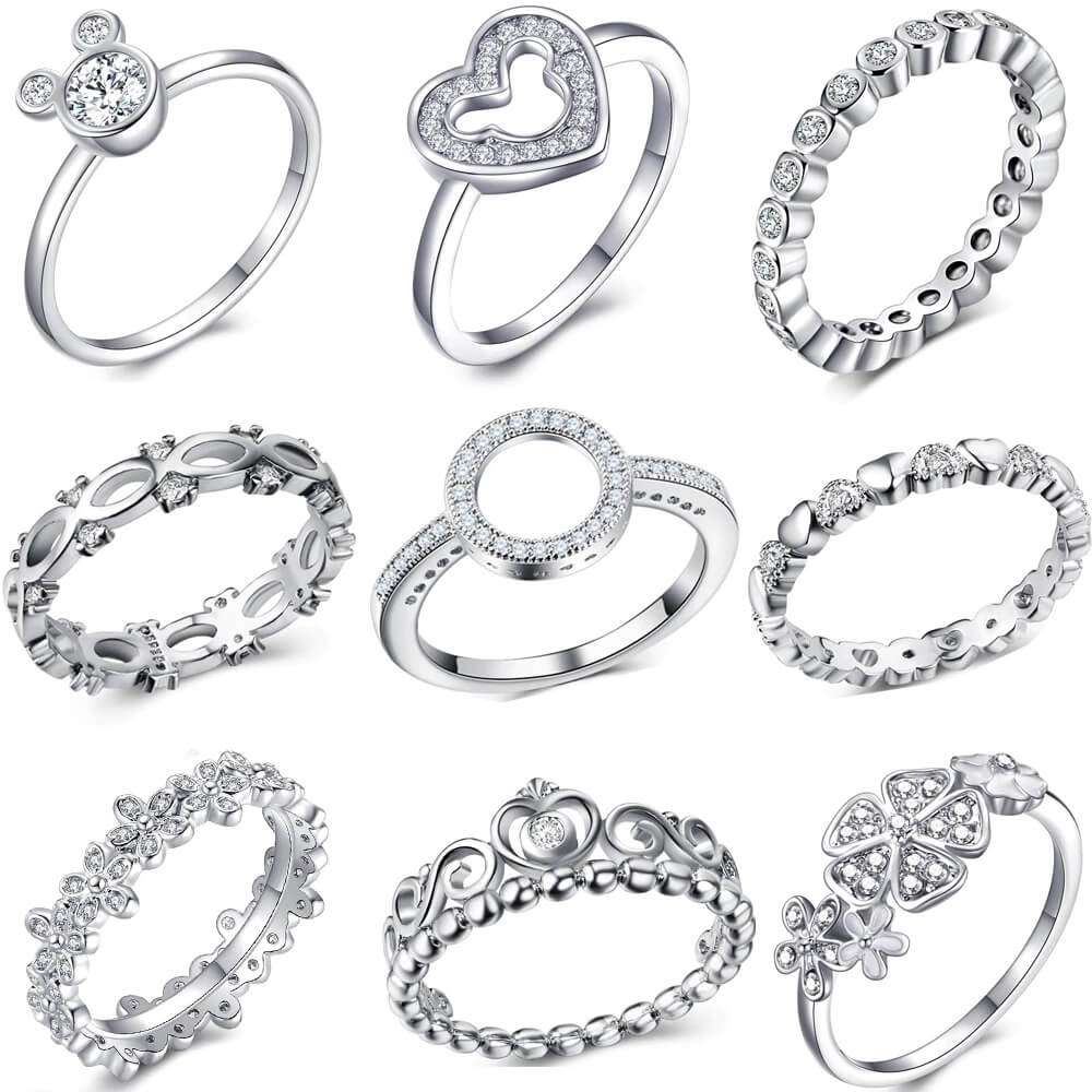 Silver Fashion Finger Ring Manufacturers
