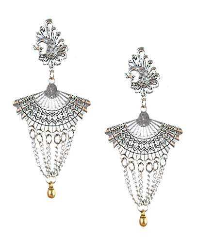 Silver Fashion Jewelry Earring Manufacturers