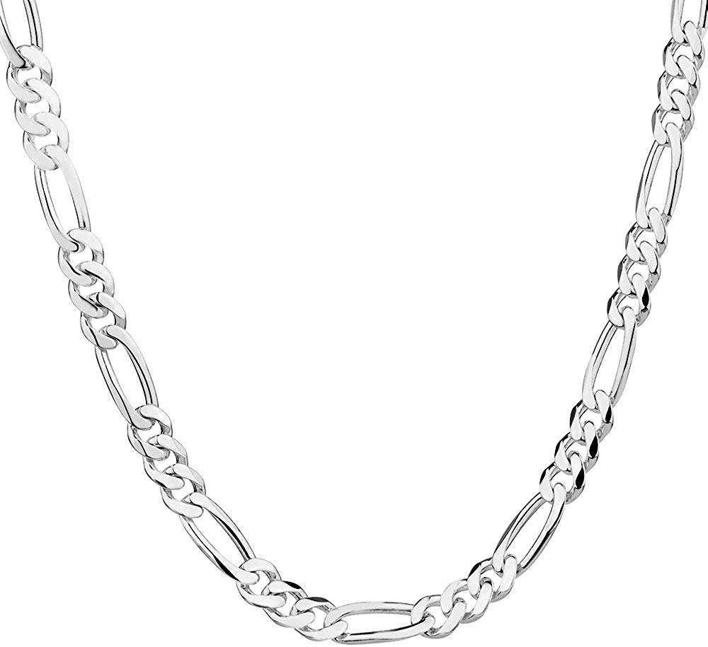 Silver Figaro Necklace Manufacturers