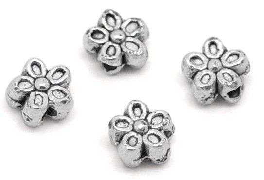 Silver Flower Spacer Manufacturers