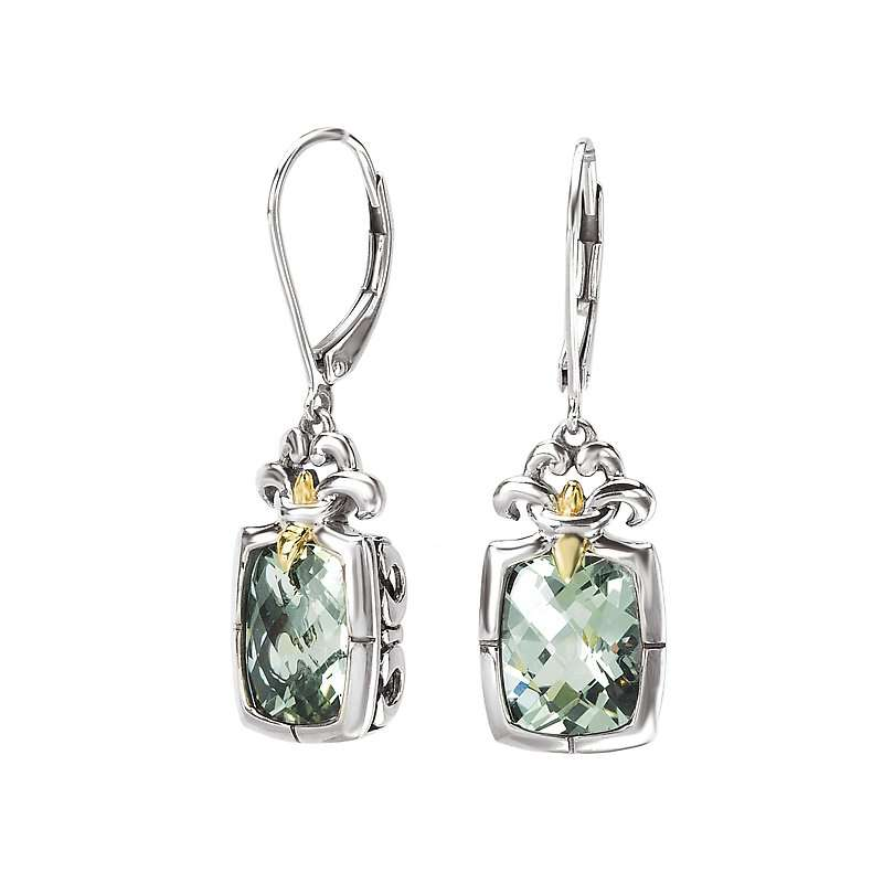 Silver Gemstone Earring Manufacturers