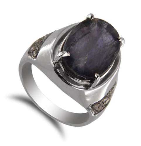 Silver Gemstone Jewelry Man Manufacturers