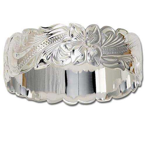 Silver Hawaiian Bangle Manufacturers