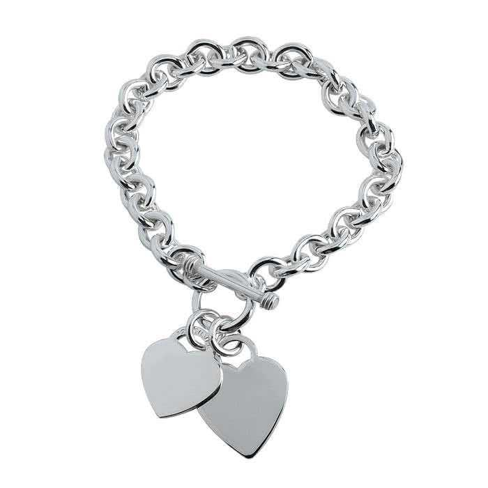 Silver Heart Chain Manufacturers