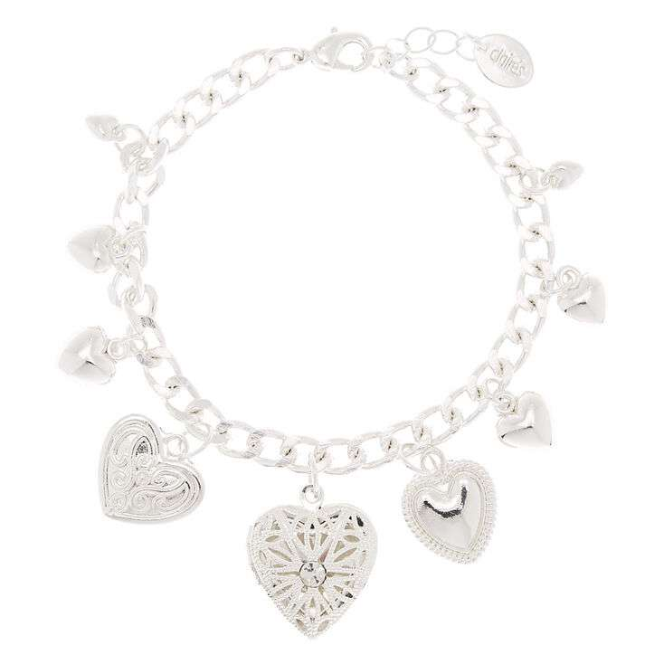 Silver Heart Charm Bracelet Manufacturers