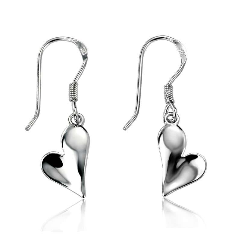 Silver Heart Earring Manufacturers