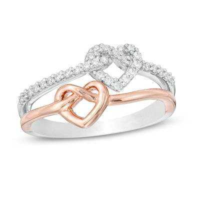 Silver Heart Knot Ring Manufacturers