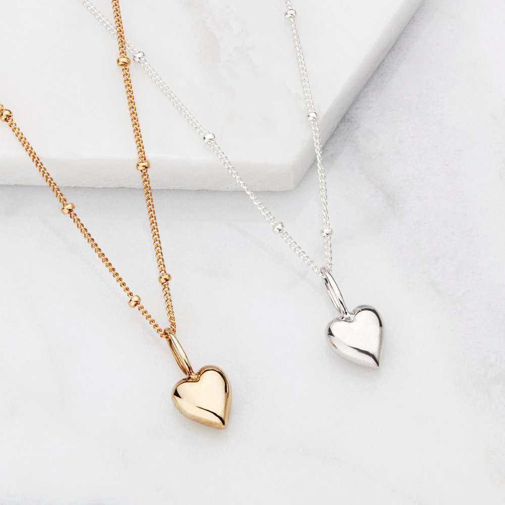 Silver Heart Necklace Manufacturers