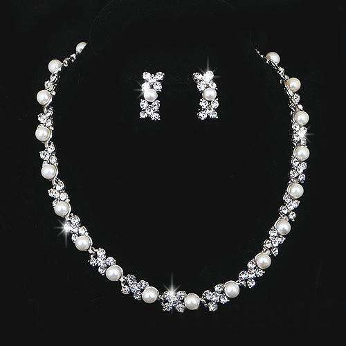 Silver Imitation Jewellery Set Manufacturers