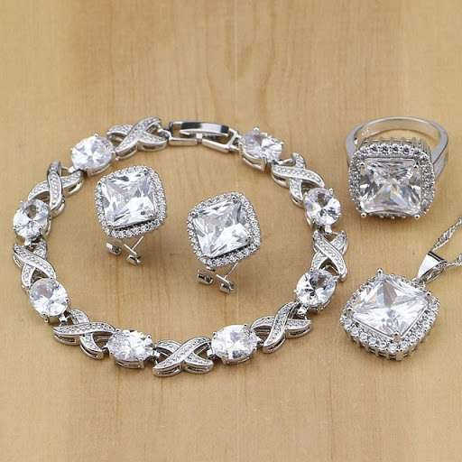 Silver Jewelery Cubic Zirconia Manufacturers