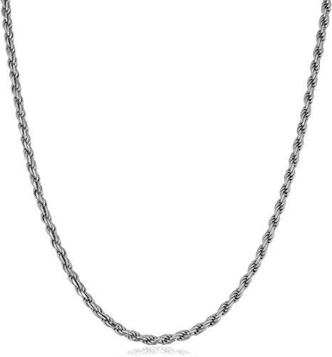Silver Look Chain Necklace Manufacturers