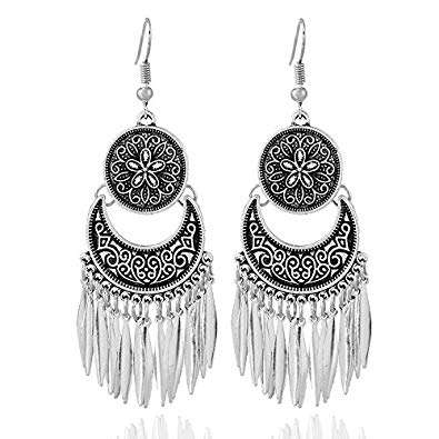 Silver Metal Earring Manufacturers