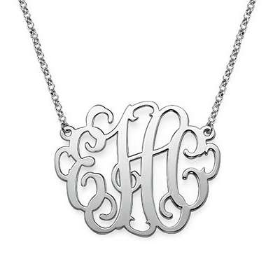 Silver Monogram Jewelry Manufacturers