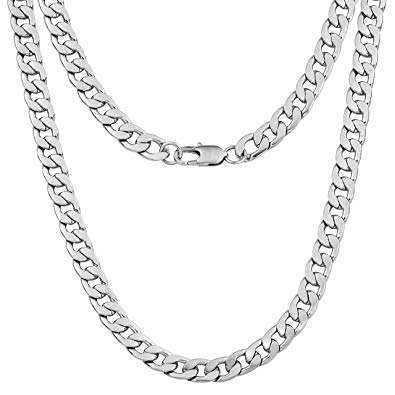 Silver Necklace Man Manufacturers