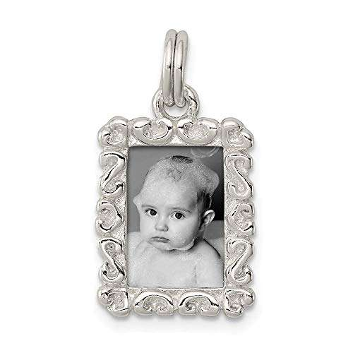 Silver Photo Charm Manufacturers