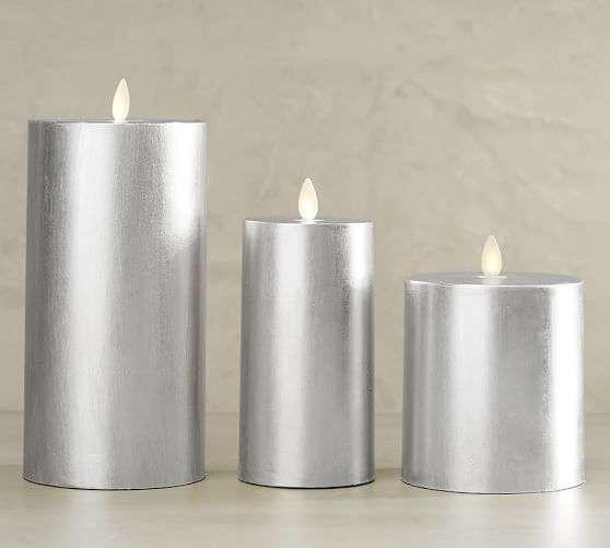Silver Pillar Candle Manufacturers