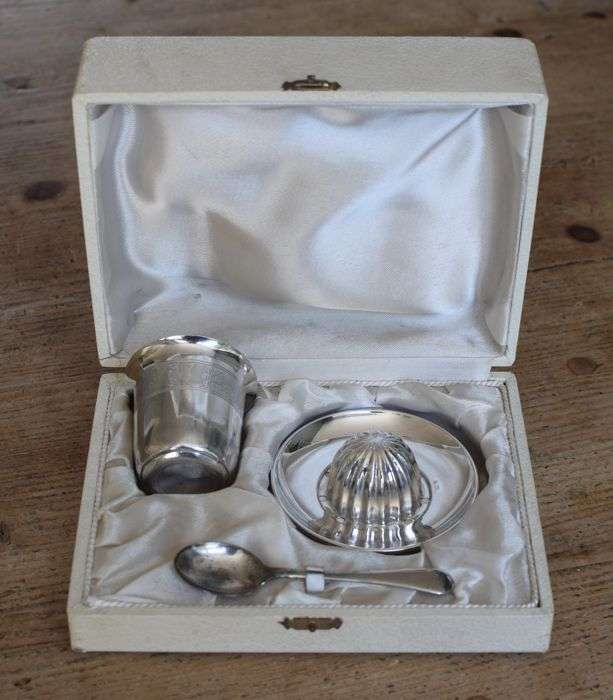 Silver Plated Baby Gift Manufacturers