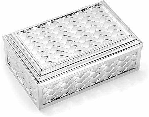 Silver Plated Jewelry Box Manufacturers