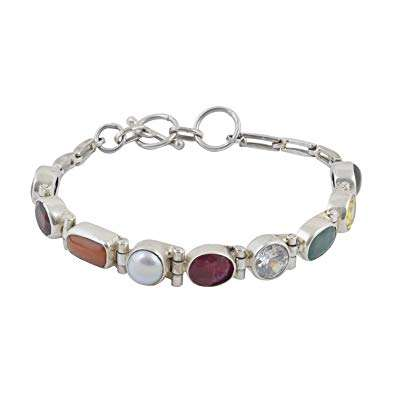Silver Stone Bracelet Manufacturers