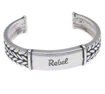 Silver Tag Bangle Bracelet Manufacturers