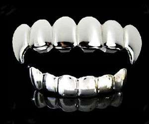 Silver Teeth Grillz Manufacturers